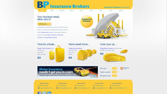 BP Insurance Brokers Lancashire