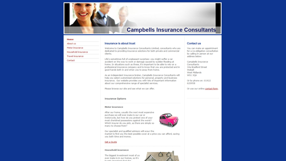 Campbells Insurance Consultants Worcestershire