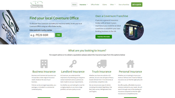 Coversure Insurance Services Greater Manchester
