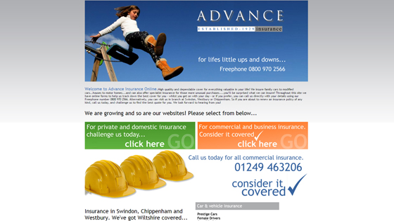 Advance Insurance Agencies Wiltshire