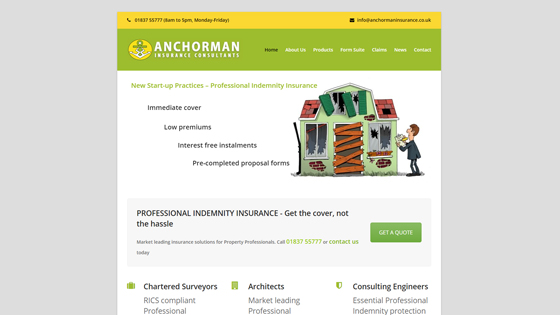 Anchorman Insurance Consultants Ltd Devon