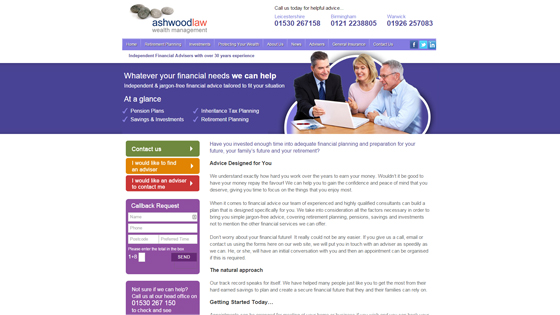 Ashwood Law General Insurance Services Leicestershire