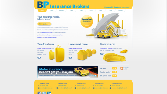 BP Insurance Brokers Lancashire