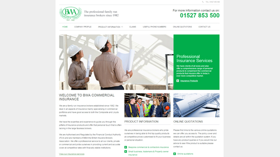 BWA Commercial Insurance Warwichshire
