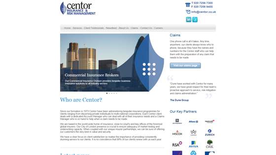 Centor Insurance and Risk Management Limited London