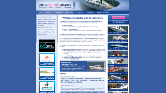 Curtis Marine Insurance Plymouth