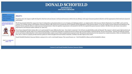 Donald Schofield West Yorkshire