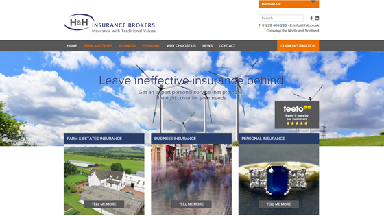 H & H Insurance Brokers Cumbria