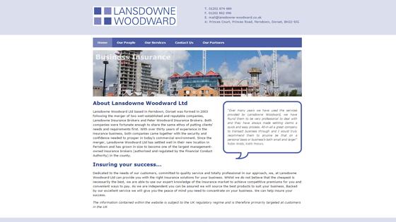 Lansdowne Woodward Ltd Dorset